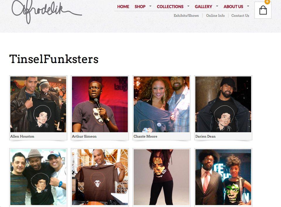 Afrodelik - Tinselfunk gallery page