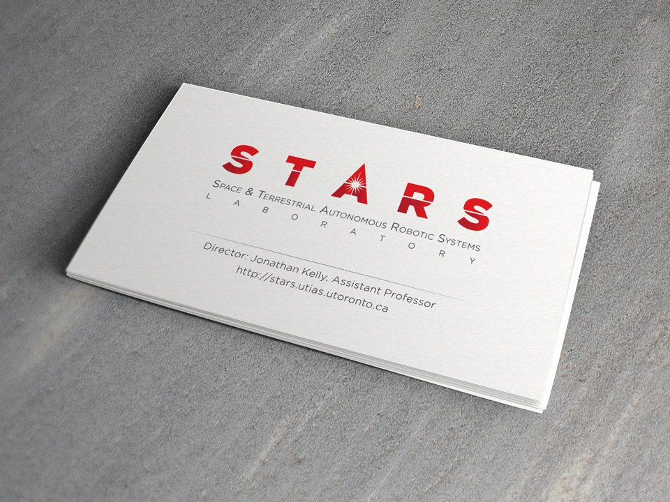 STARS Laboratory: business card design