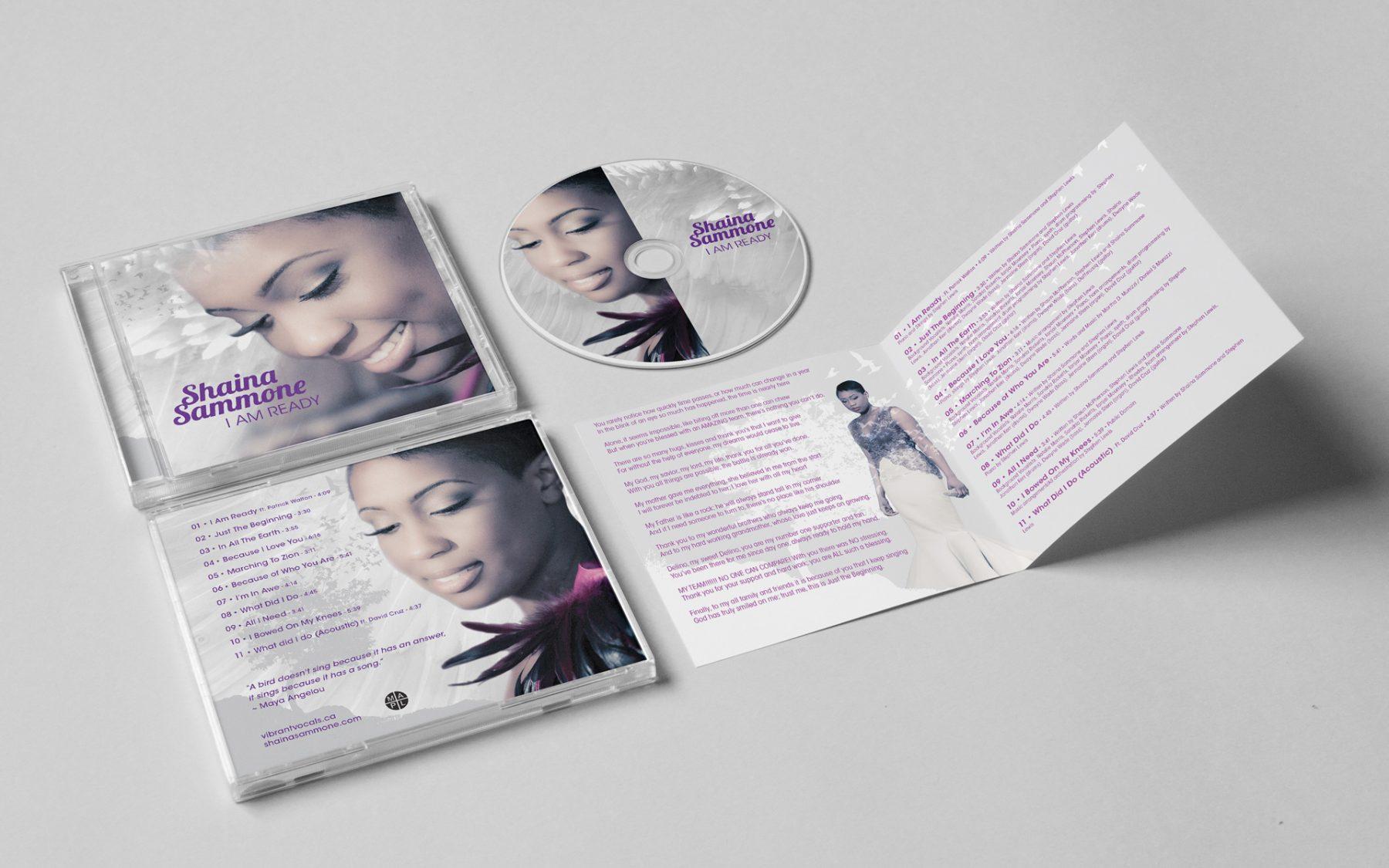 Shaina Sammone: CD Design