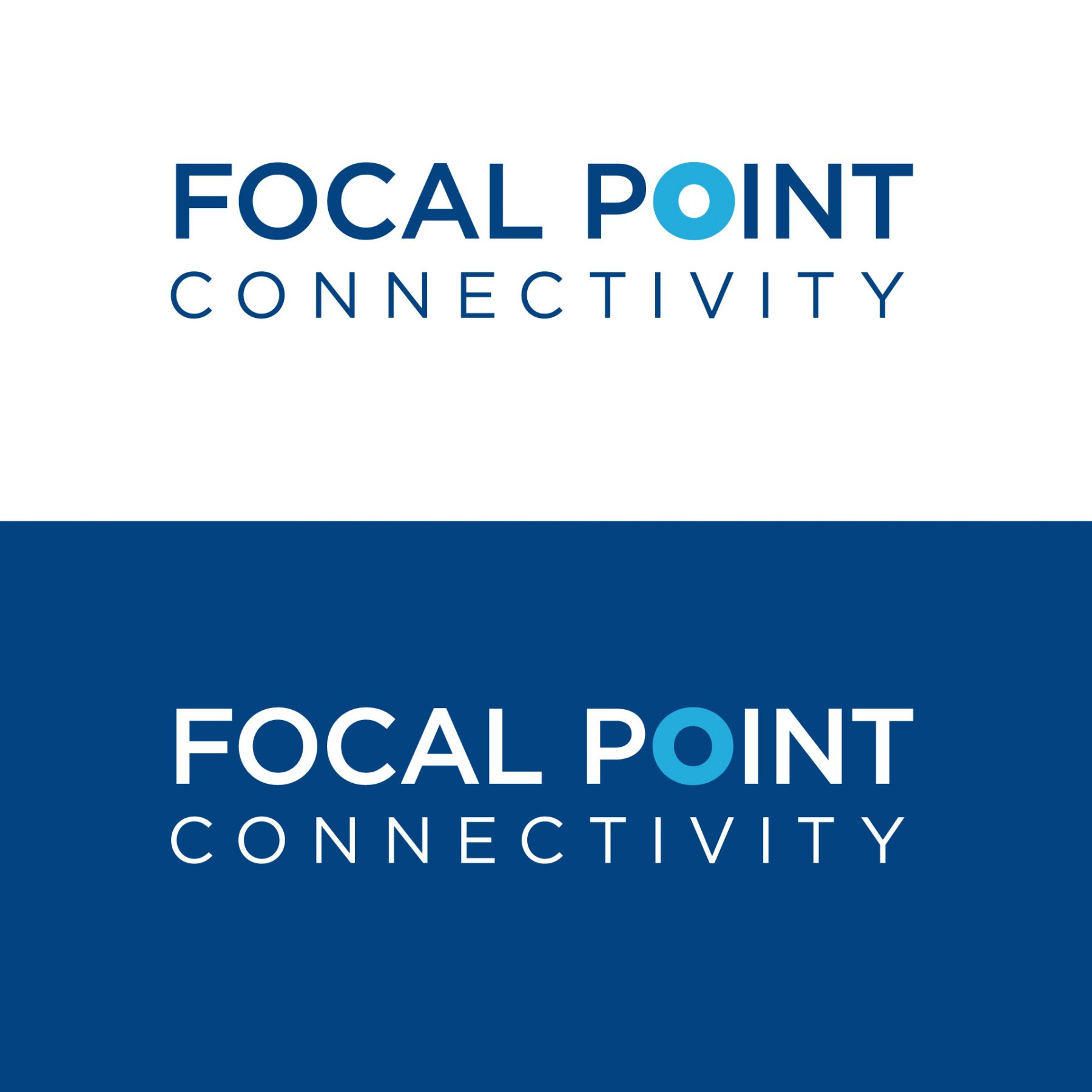 Focal Point Connectivity - logo design