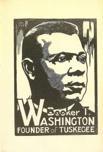 Booker T. Washington by Charles Dawson 13 African American Designers