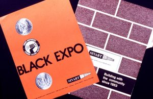 Branding materials for the Black Expo by Leroy Winbush