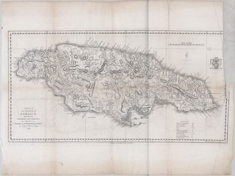 Jamaica, West Indies via New York Public Library