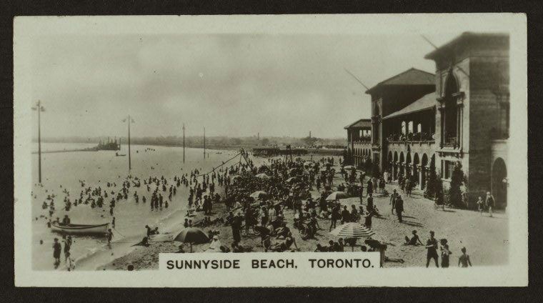 Sunnyside Beach, Toronto via New York Public Library