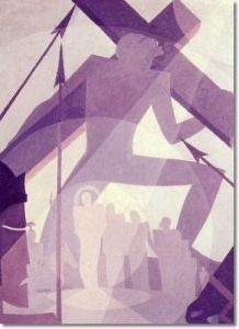 The Crucifixion by Aaron Douglas: 13 African American Graphic Designers You Should Know