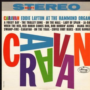 Caravan record cover designed by Emmett McBain: 13 African American Designers