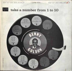 Take a Number From 1 to 10 record cover designed by Emmett McBain: 13 African American Designers