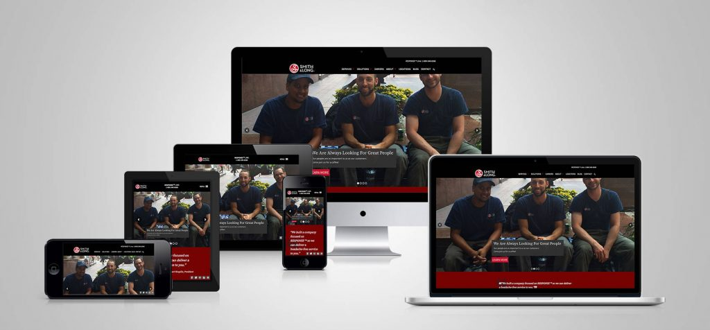 Smith and Long Limited: Responsive Website Design
